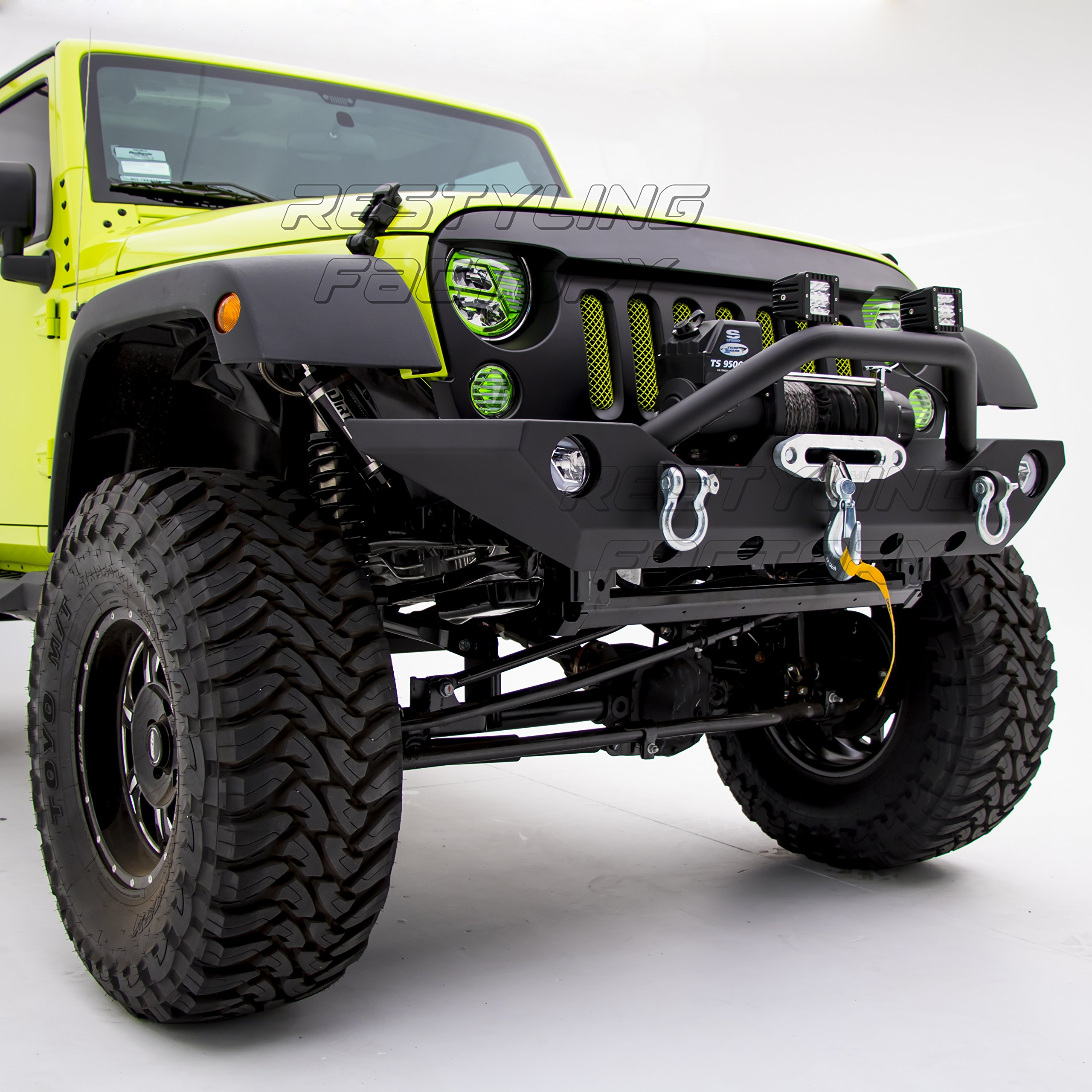Jeep Wrangler Unlimited Front Bumper Diagram Great Installation Of Fender 2013 With Winch Amazon Com Rh Cover Cap Awesome