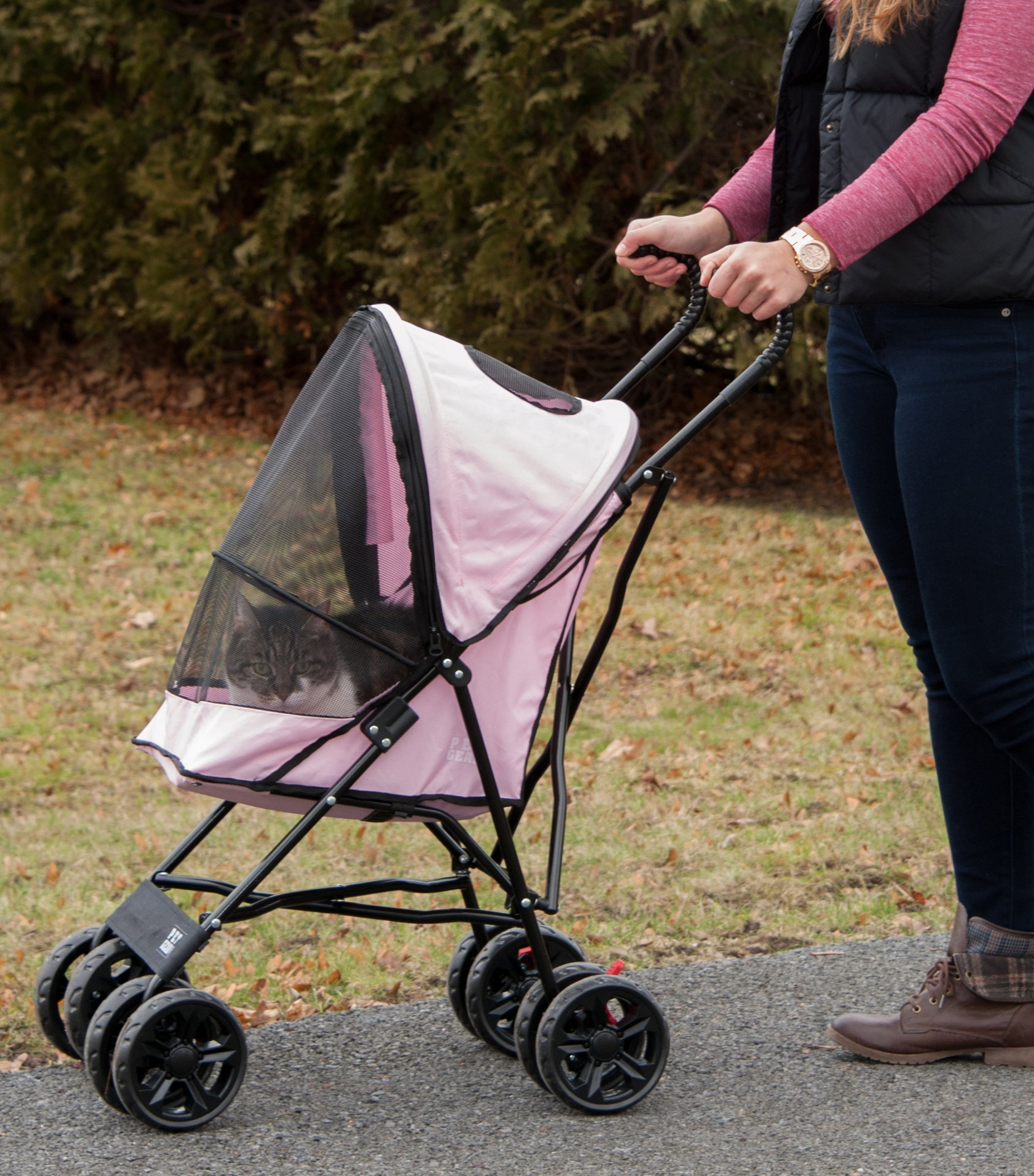 Pet Gear Travel Lite Pet Stroller for Cats and Dogs up to ...