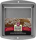 Wilton Square Cake Tin, Recipe Right, Non-Stick, 20.3cm (8in)