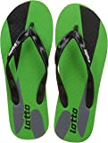 Lotto Men's Solar/Green/Black Hawaii House Slippers