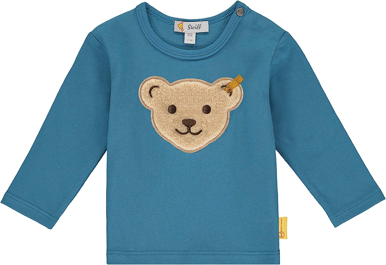 Steiff Baby-Jungen Mit Teddyb/ärmotiv Hose