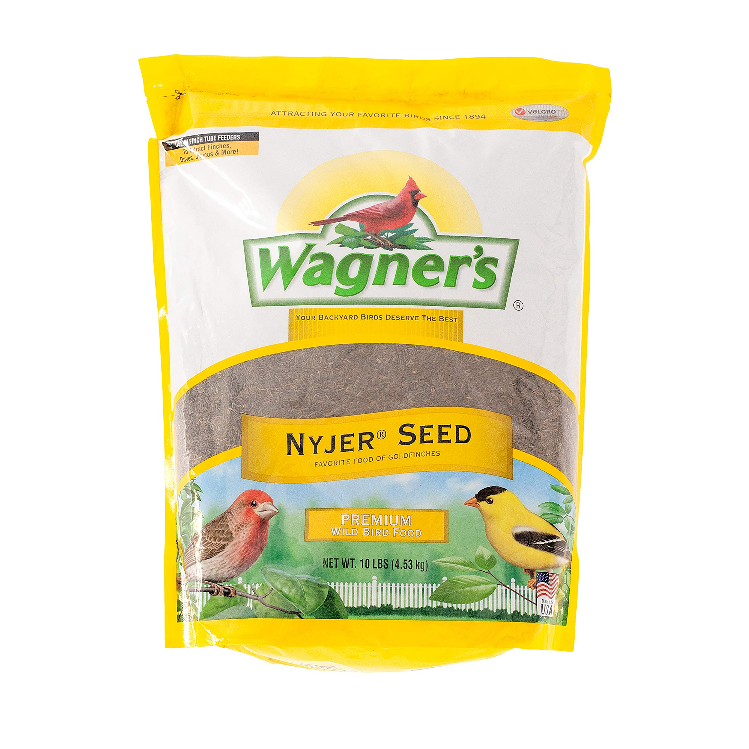 Wagner's 62050 Nyjer Seed Bird Food, 10-Pound Bag by Wagner's