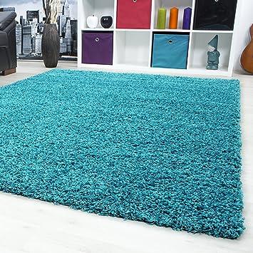 Teppiche Hochflor Shaggy Fur Wohnzimmer Esszimmer Gastezimmer Mit