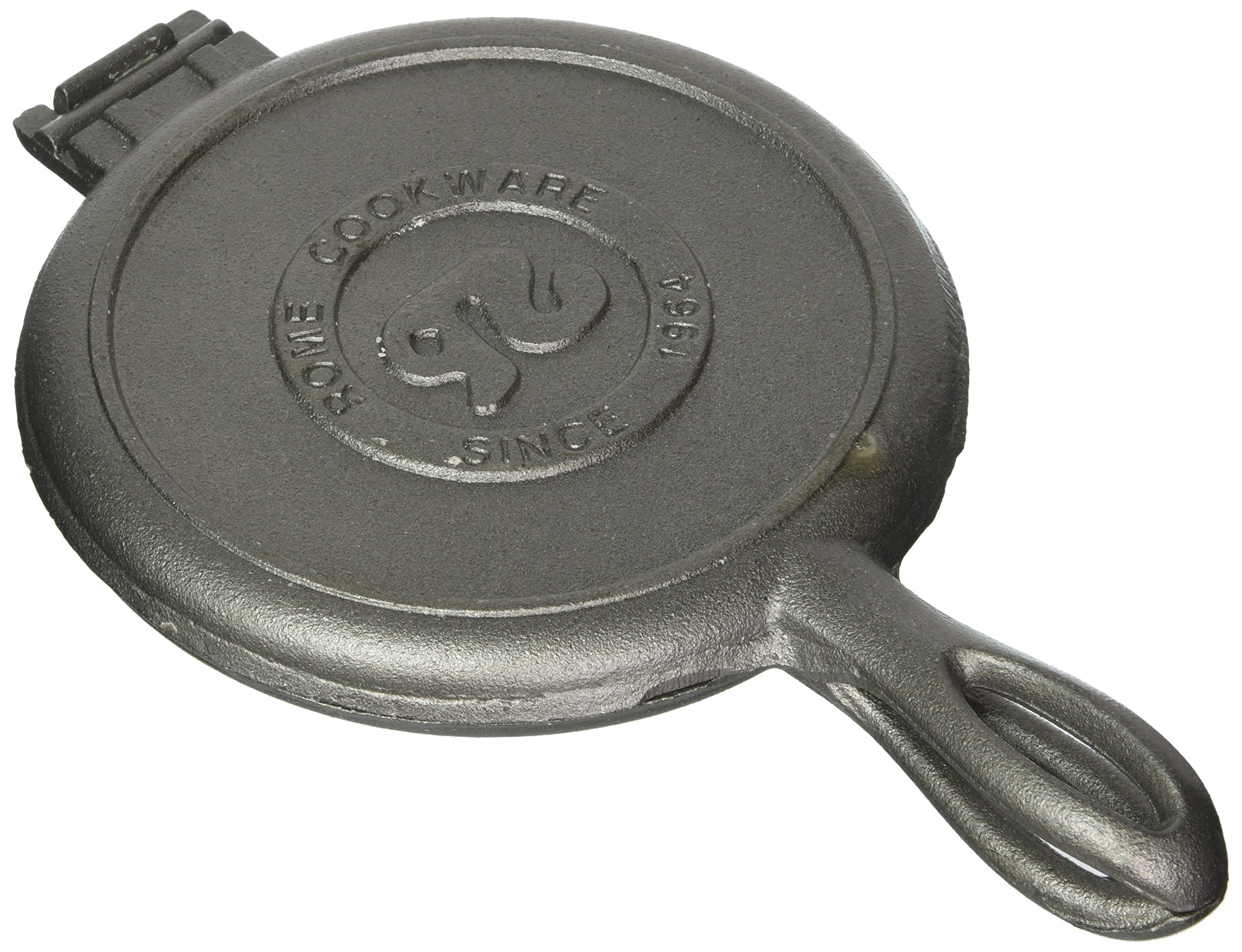 Solid Cast Iron Old Fashioned Waffle Iron by Rome's Original by Rome's Original (Image #1)