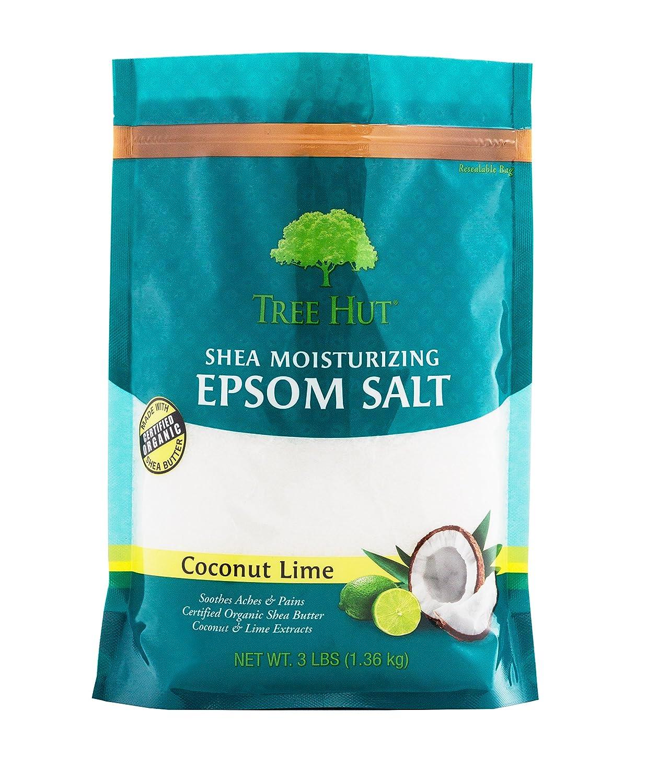 Tree Hut Shea Moisturizing Epsom Salt, Coconut Lime
