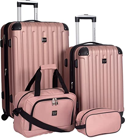 Travelers Club Expandable Luggage Set