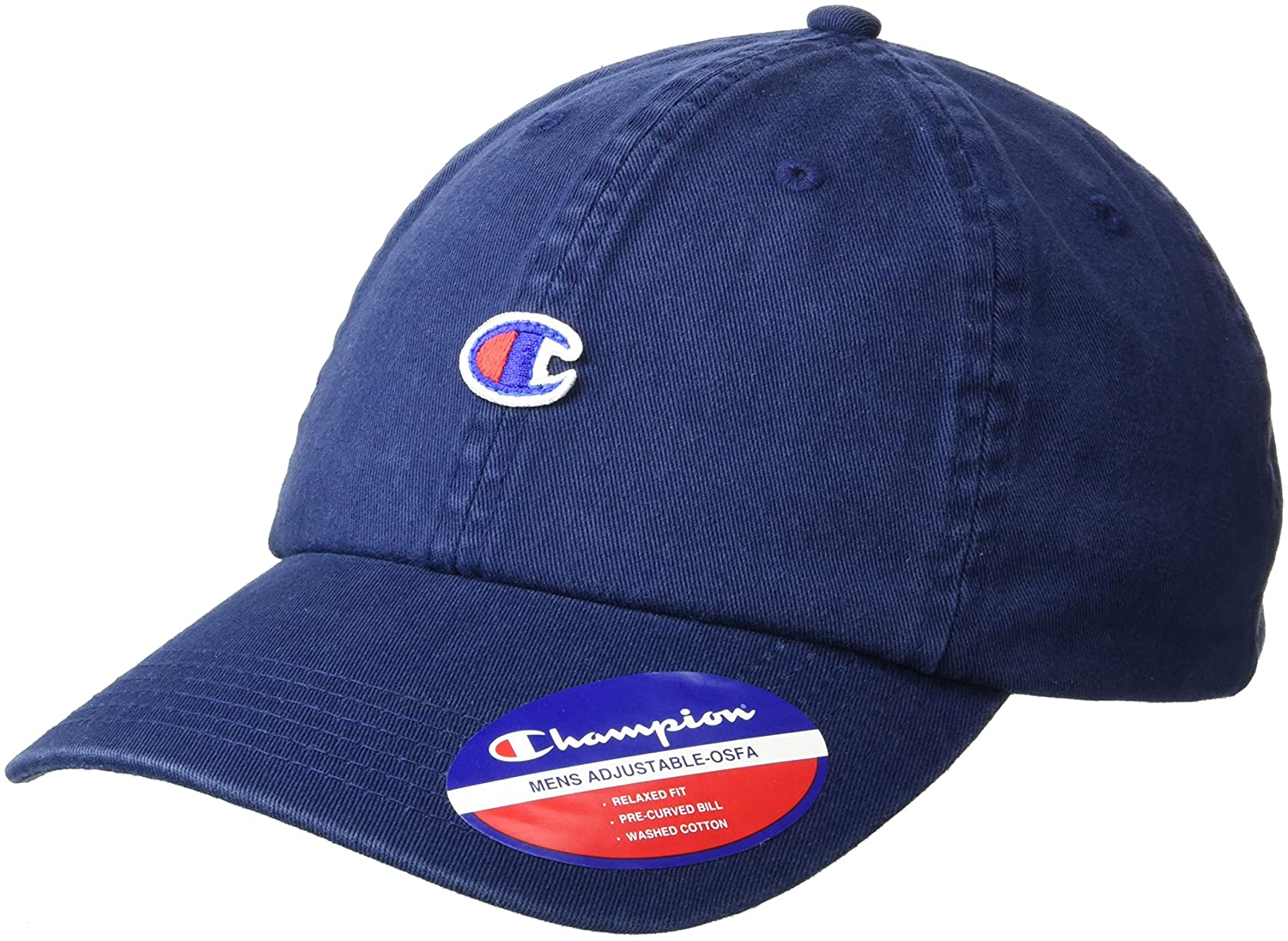 Champion Men's Father Dad Adjustable Cap Black OS CH2007-001
