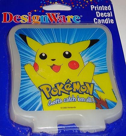 Amazon.com: Pokemon Pikachu Reproducido Decal Decoración ...