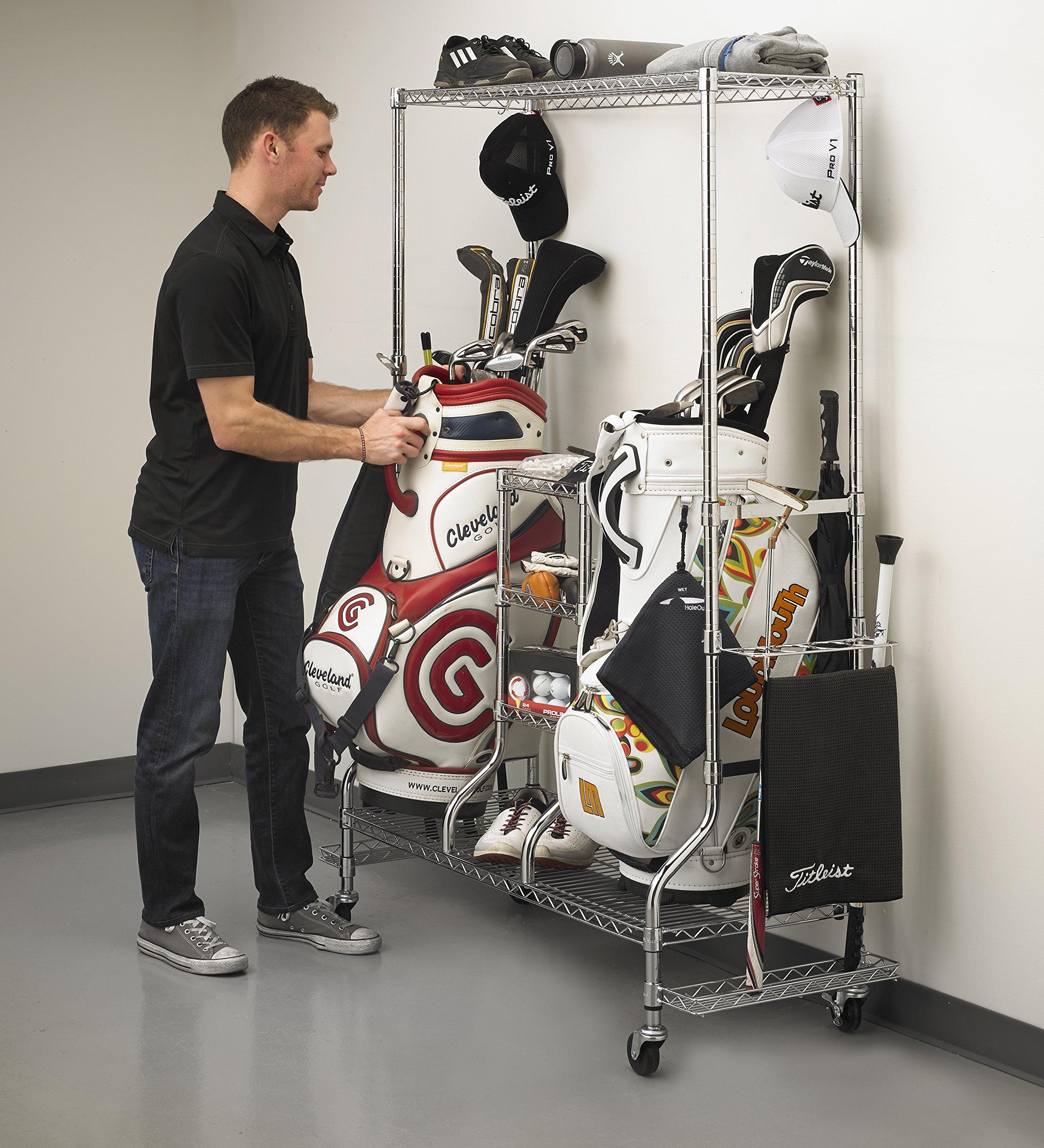 SafeRacks - Golf Equipment Organizer