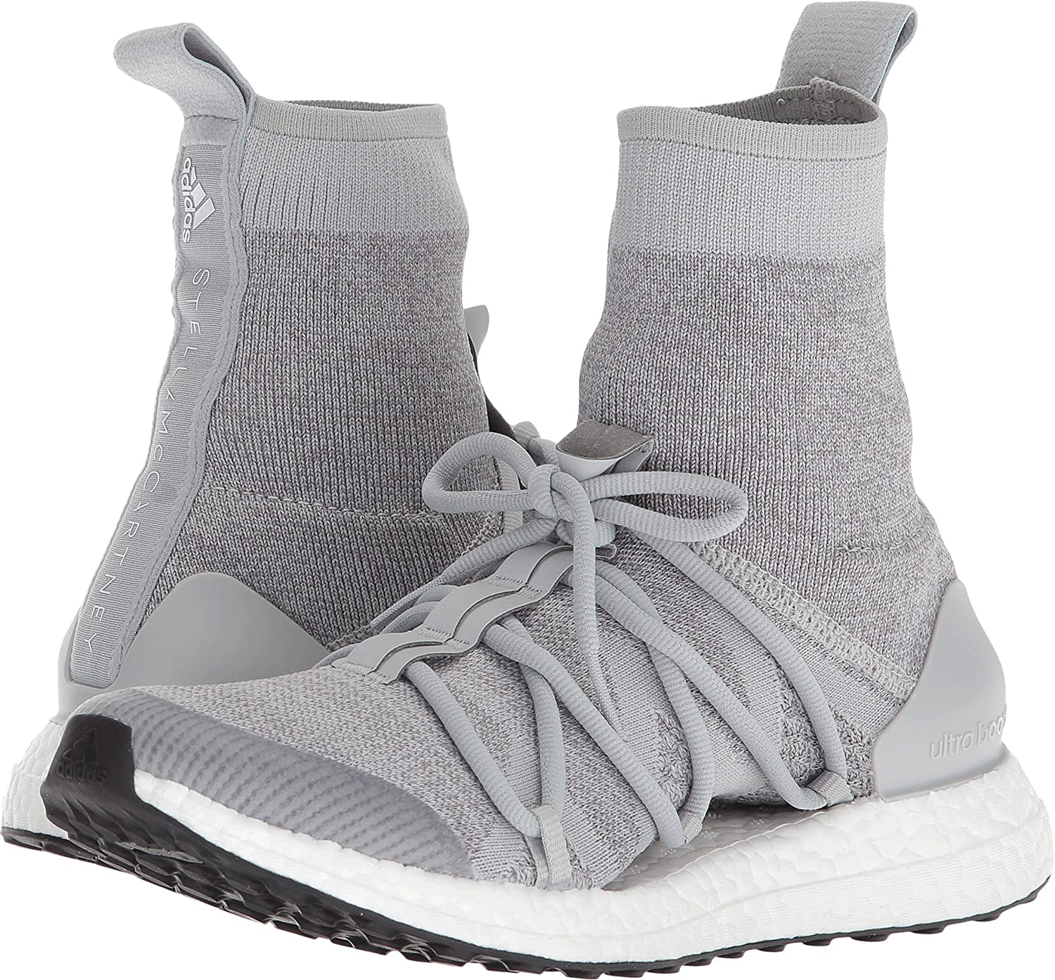 adidas by Stella McCartney Women's Ultraboost X Sneakers B078ZKJS6M 8.5 B(M) US|Stone/Core White/Eggshell/Grey/Smc