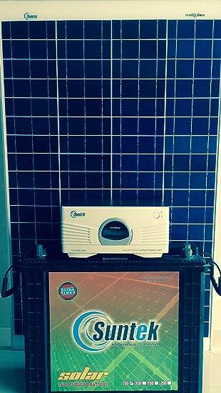 Suntek Energy Metal Solar Power Pack (Multicolor)