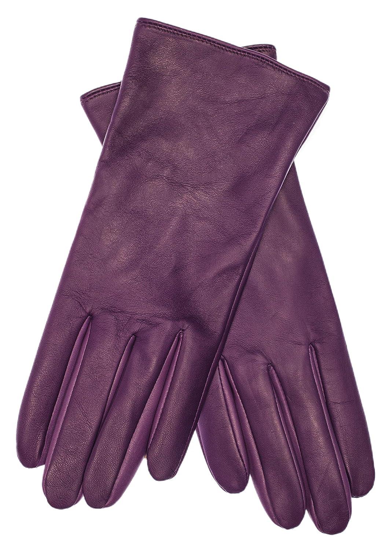 Herren Lederhandschuhe Winter Samtweiches Leder Handschuhe Schwarz