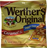Werther's Original Hard Candy, Caramel Sugar Free, 2.75-Ounce Bags (Pack of 12)