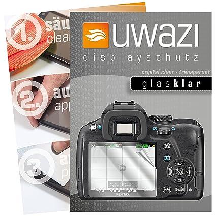 Pentax K 50 SLR - Protector de pantalla 5 x uwazi Cristal de Clara ...