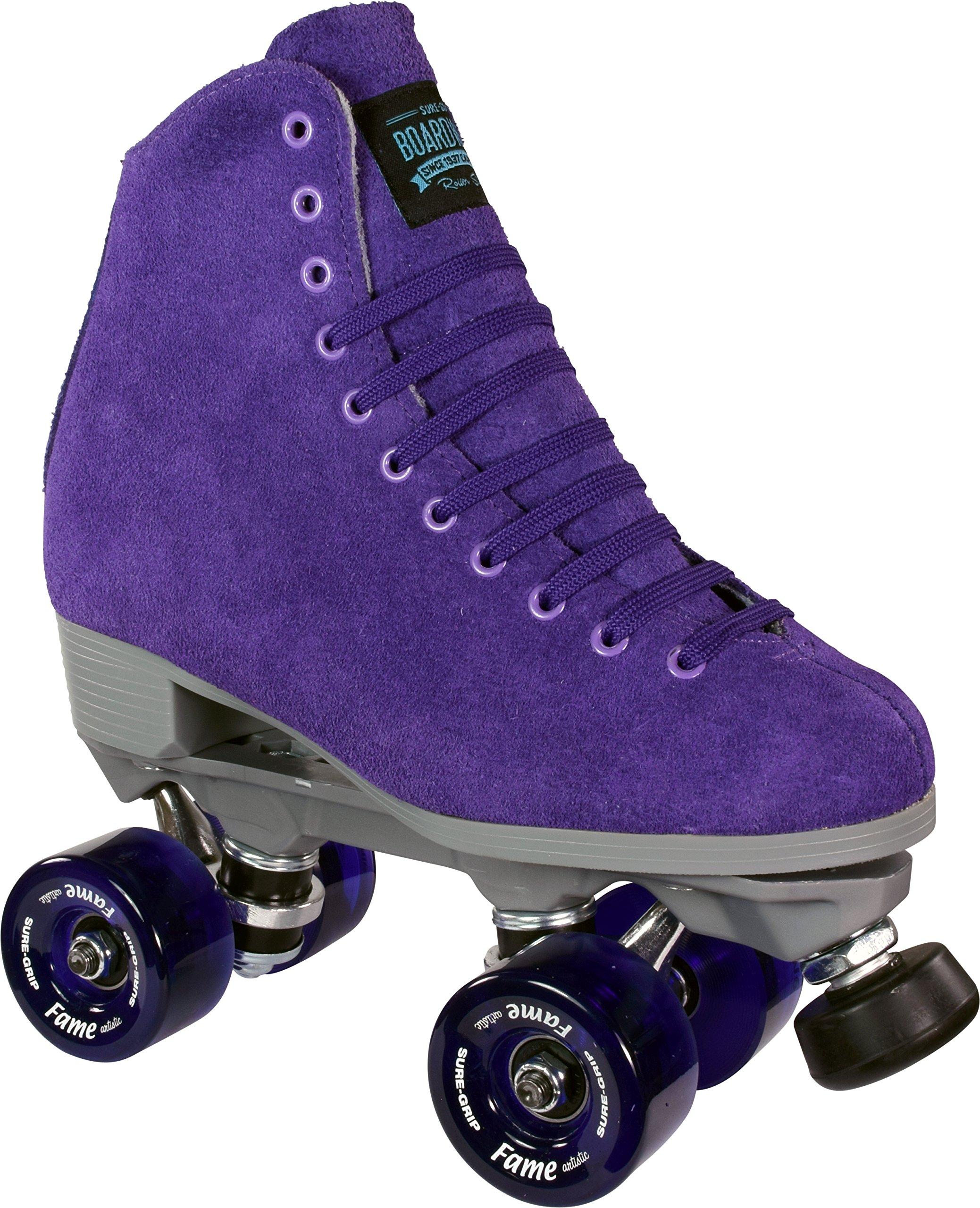 Sure-Grip Purple Boardwalk Skates Indoor by Sure-Grip
