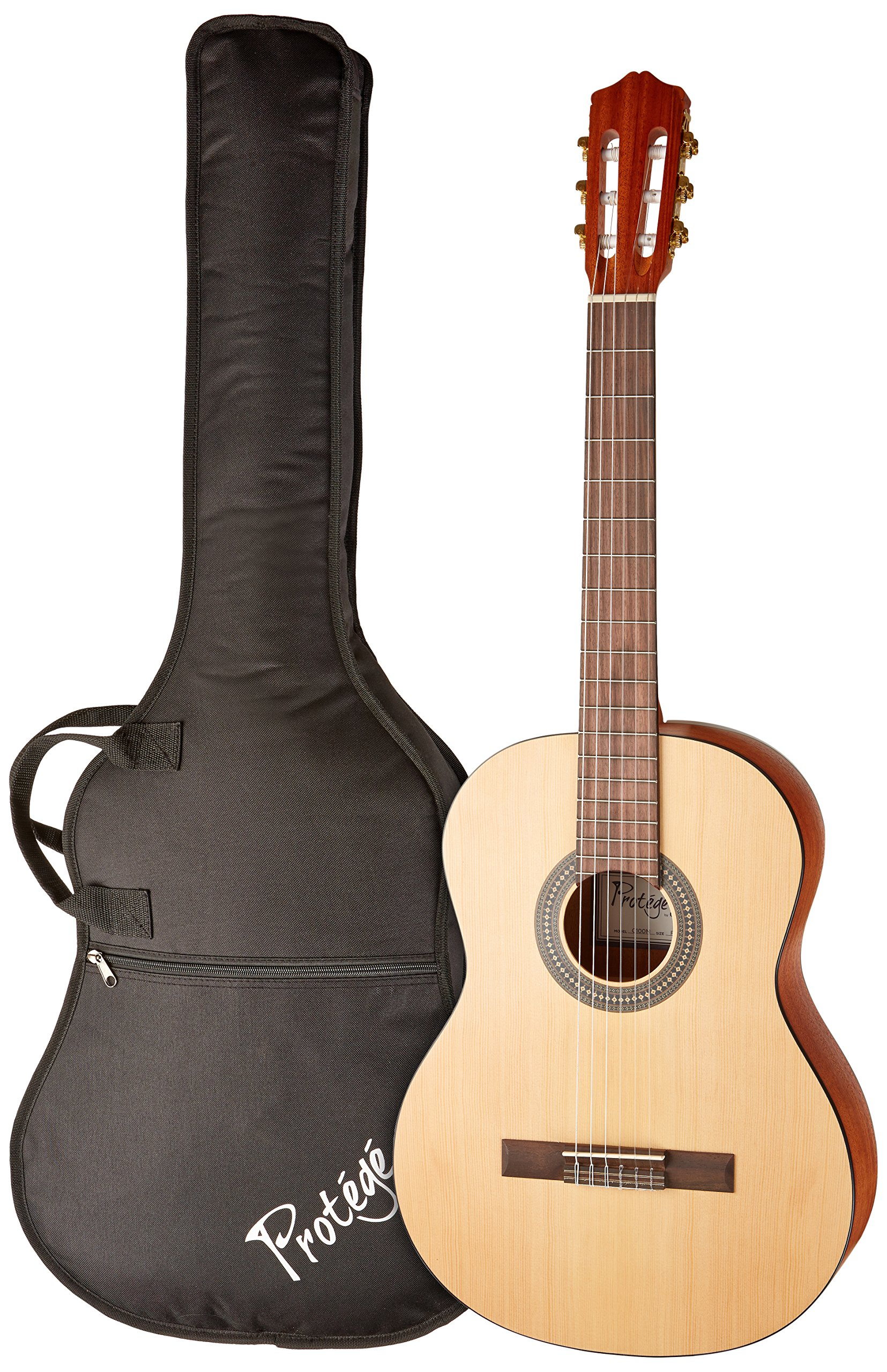 Protege by Cordoba C100M Full Size Classical Guitar with Gig Bag and Tuner (Amazon Exclusive)