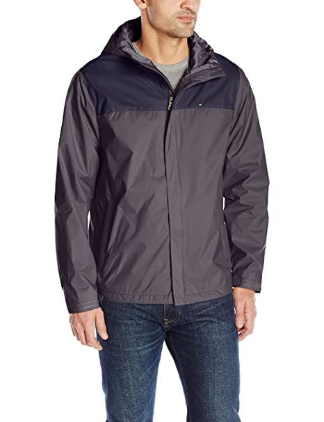 huge discount lowest discount outlet on sale Tommy Hilfiger mens156AP010Waterproof Breathable Hooded ...