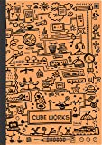 Matrikas Cube Work Pad A4, 160 Pages, Orange