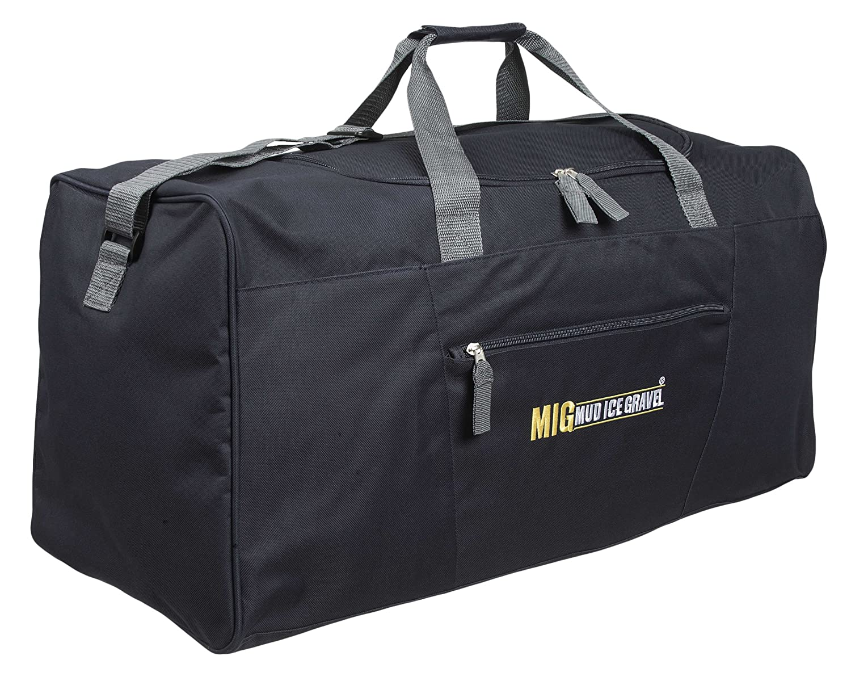 73629fafeb Mens Extra Large Black Holdall Gym   Sports Bag - TRAVEL SPORTS DUFFLE  WORK  Amazon.co.uk  Clothing