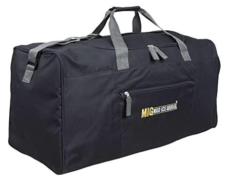 e7f9bd95e3465d Mens Extra Large Black Holdall Gym & Sports Bag - TRAVEL SPORTS DUFFLE WORK