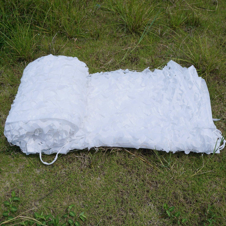 Malla de camuflaje camuflaje malla persianas para caza Camping silla decoración del hogar y deportes al aire libre - nieve, 2x3m / 6.6x10 ft: Amazon.es: ...