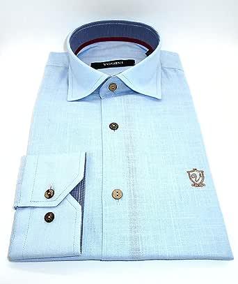 فوكيني قميص قبة قميص -رجال