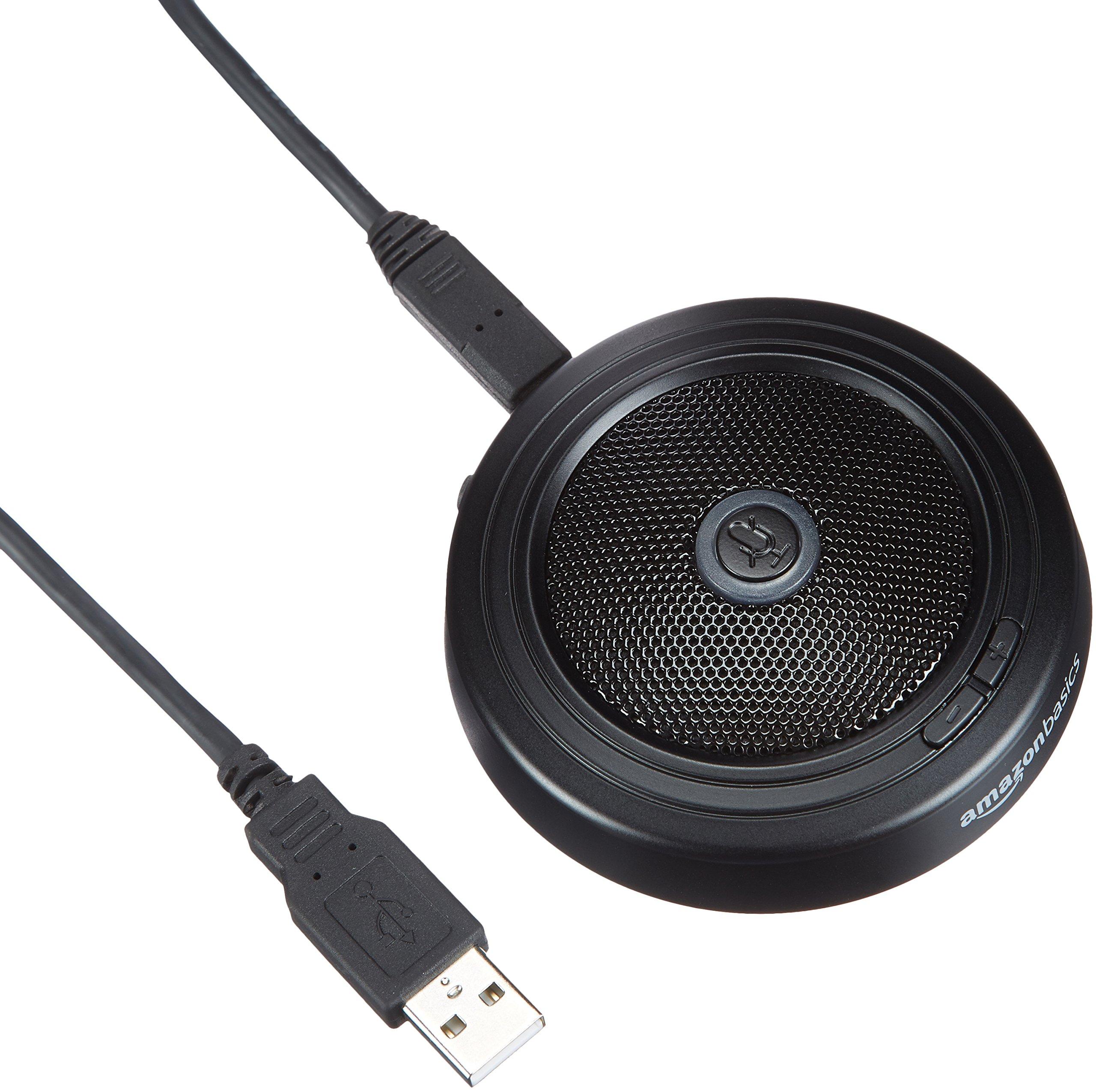 AmazonBasics USB Conference Microphone