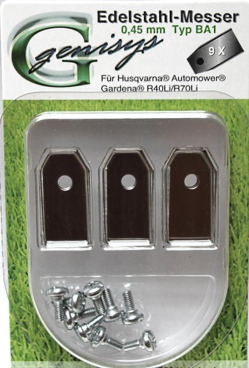 Cuchilla de repuesto Cuchillas para Husqvarna Automower/Gardena ...