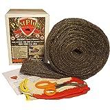 "Pestplug 4"" X 10' Long, 100% Stainless Steel Wool"