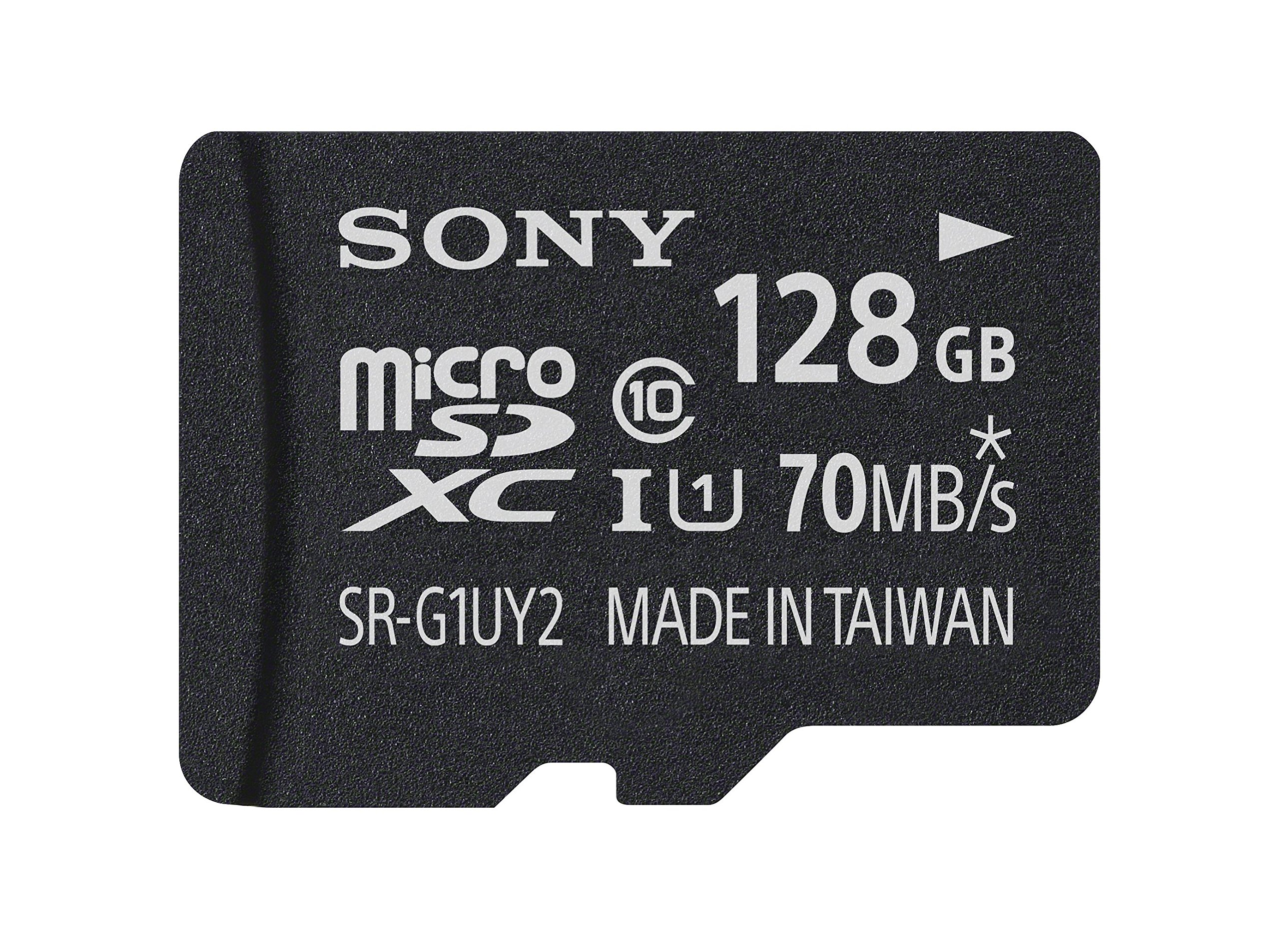 Sony 128GB Class 10 UHS-1 Micro SDXC up to 70MB/s Memory Card (SRG1UY2A/TQ)