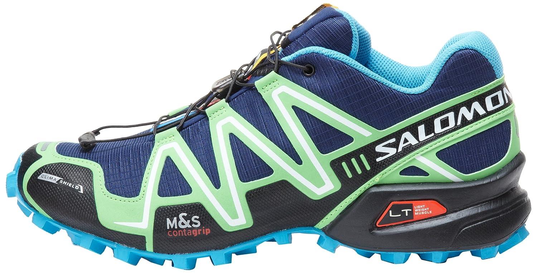 katsella ensiluokkainen kenkäkauppa Salomon Scarpe Speedcross 3 CS Trail Running Shoes nero verde 352.261