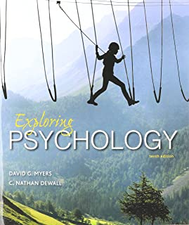 amazon com study guide for exploring psychology 9781464199936 rh amazon com Myers Psychology Book Myers Psychology Chapter 8 Review Learning