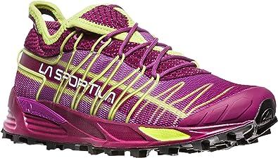 La Sportiva Mutant Woman, Zapatillas de Trail Running para Mujer, Multicolor (Plum/Apple Green 000), 37 EU: Amazon.es: Zapatos y complementos