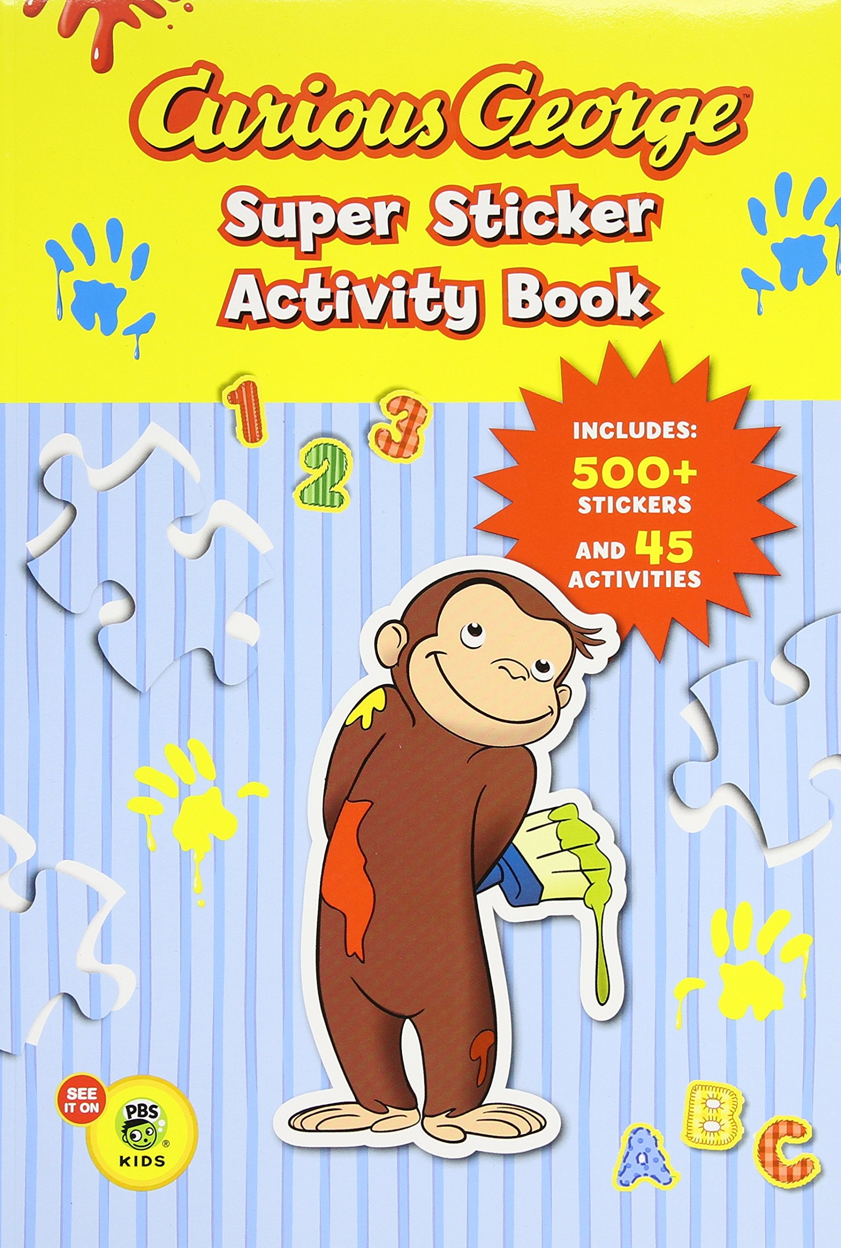 Curious George Super Sticker Activity Book Amazon It Houghton