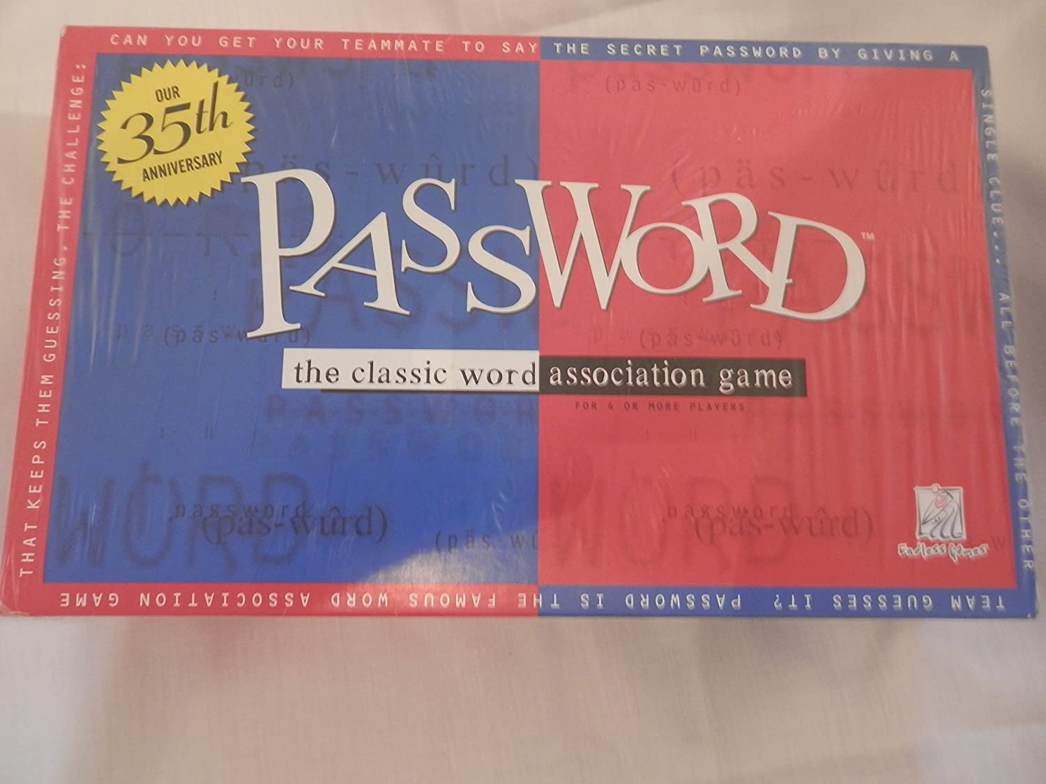Password The Classic Word Association Game 35th Anniversary by Briarpatch: Amazon.es: Juguetes y juegos