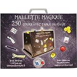 Ferriot Cric - 3090 - Mallette Magique avec table de magie - 250 Tours - Bleu
