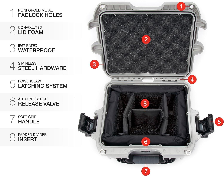 Nanuk 908 Waterproof Hard Case Orange