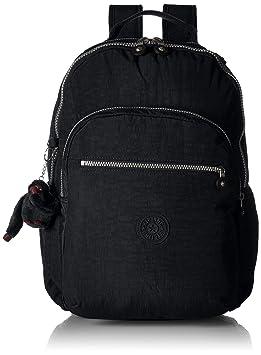 Kipling Seoul L Solid Black Laptop Backpack