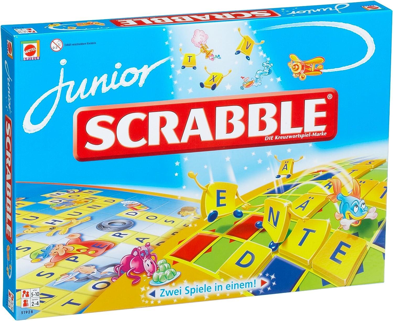 Mattel 51928-0 - Scrabble Junior: Amazon.es: Juguetes y juegos