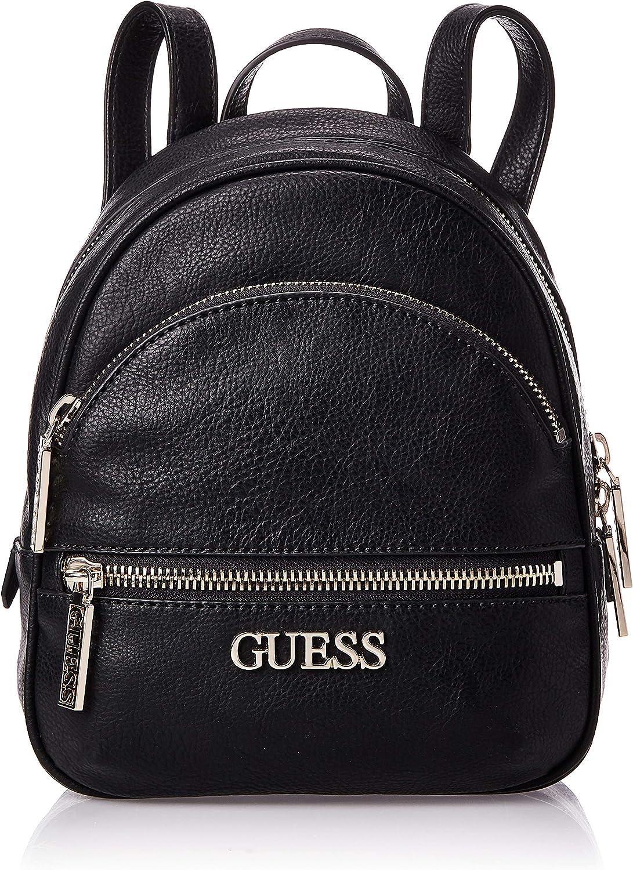 Guess, Manhattan Small Backpack mujer, negro, talla única