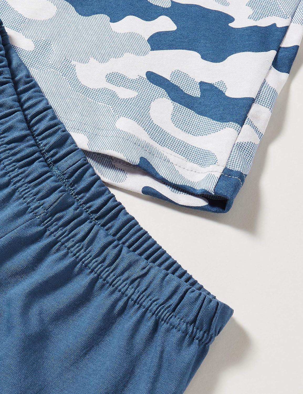 Sanetta Jungen Schlafanzug Blue Pyjamaset