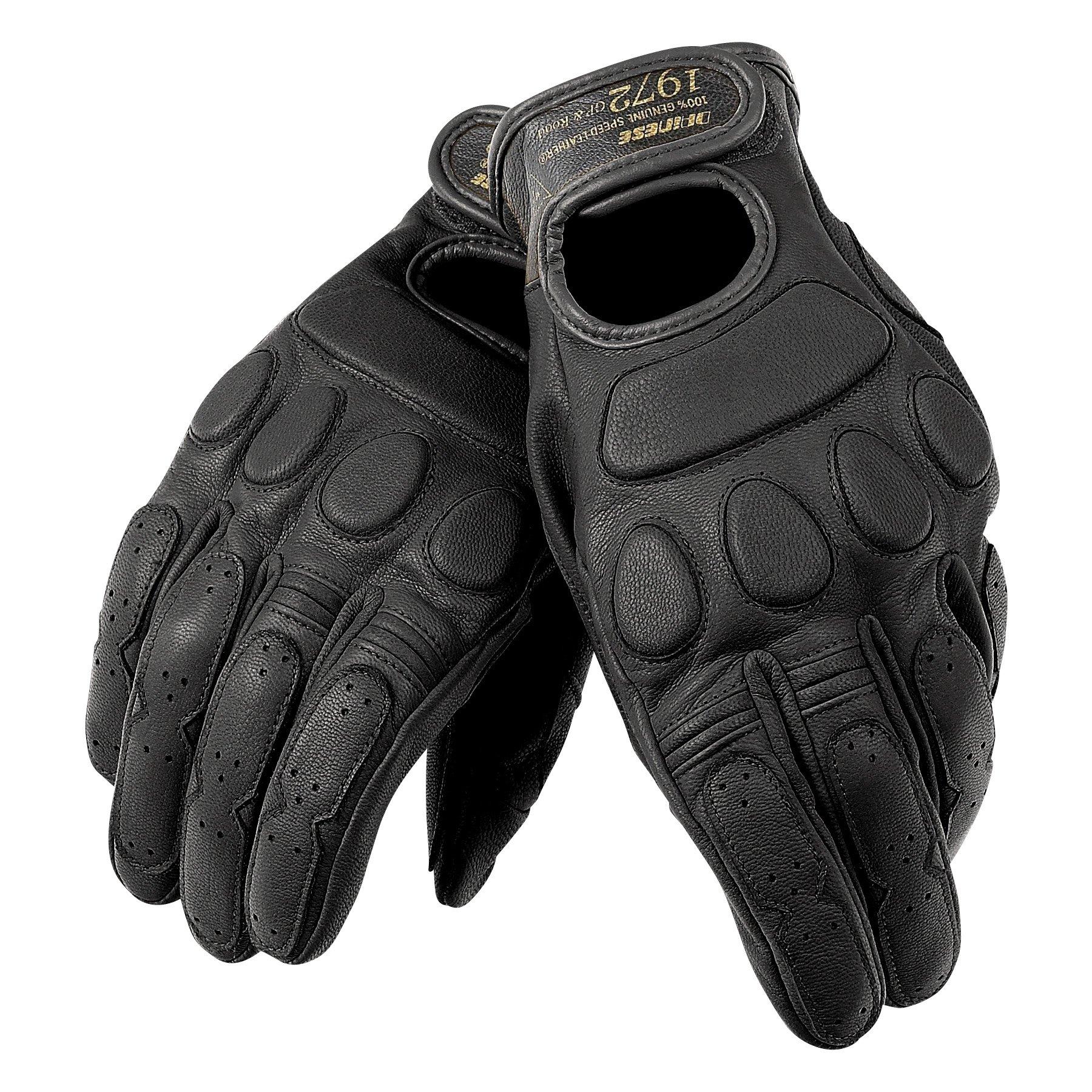 Dainese Adult Blackjack Unisex Gloves (Black), XL