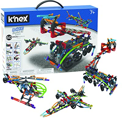 K'nex Intermediate 60 Model Building Set - 398 Parts - Ages 7 & Up - Creative Building Toy: Toys & Games