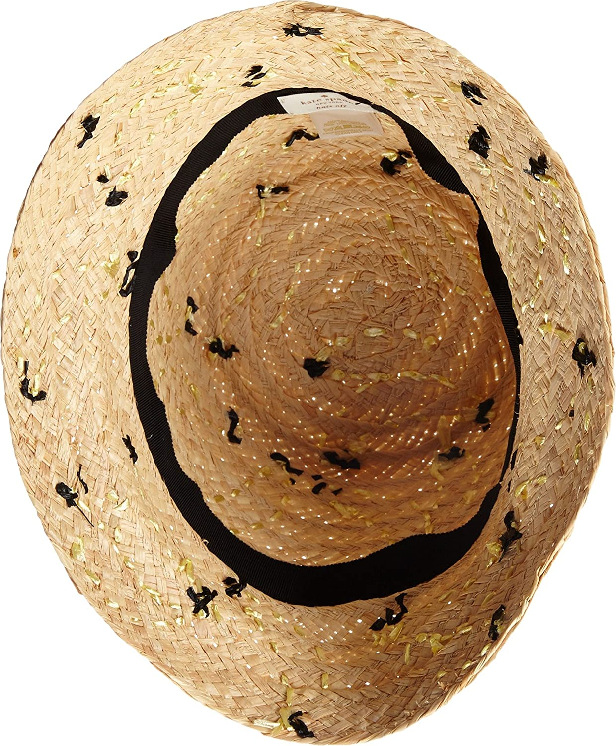 efa9340f8fe4a Amazon.com  Kate Spade New York Women s That s Bananas Hand Embroidered  Cloche Sun Hat