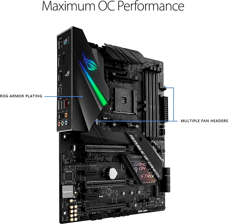 Asus ROG STRIX X470-F ATX DDR4 Gaming Motherboard