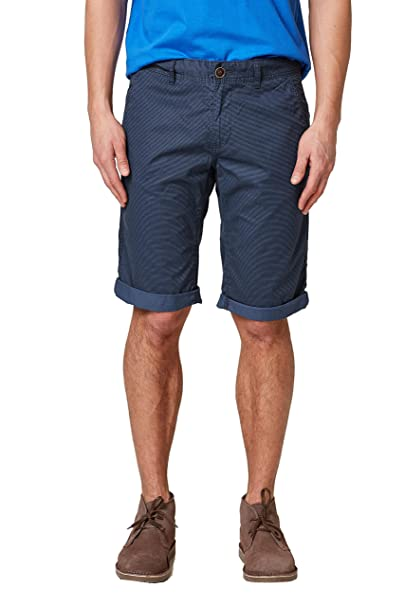 038cc2c004, Pantalones Cortos para Hombre, Azul (Blue 430), (Talla del Fabricante: 28) EDC by Esprit