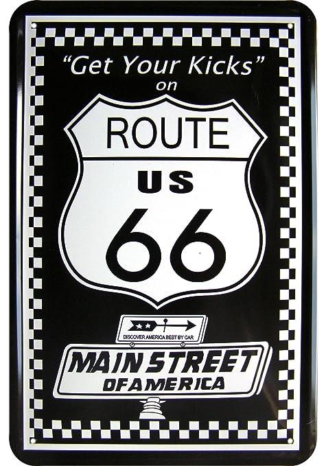 Auto - Rennplakate und Sonstiges Route 66
