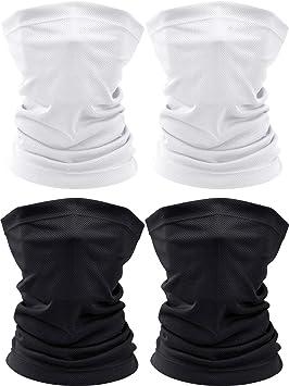JOEYOUNG Headband Bandanas Multifuncional Headwear Neck Gaiter Head Wrap para Mujeres Sweatband para Pesca Mascarilla Motocicleta Pasamonta/ñas Yoga Magic Head Scarf