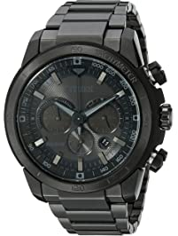 Citizen Men s Eco-Drive Chronograph Stainless Steel Watch with Date 0155db905