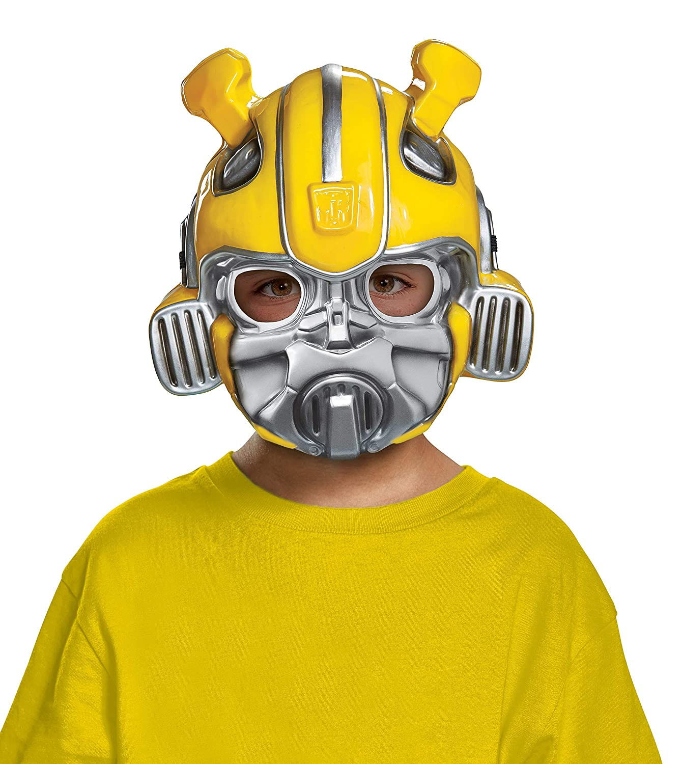 Disguise Bumblebee Child Half Mask- One Size Child 67666